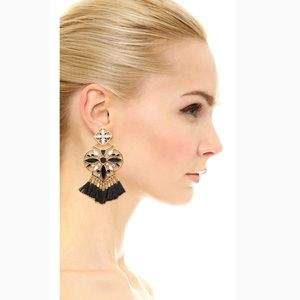 KS Moroccan Tile Chandelier Earrings